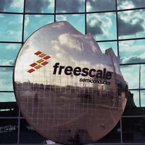 Freescale is listed (or ranked) 19 on the list The Best CPU Manufacturers