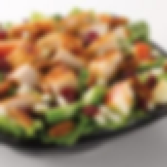 Wendy's Apple Pecan Chicken Sa... is listed (or ranked) 1 on the list The Best Fast Food Salads