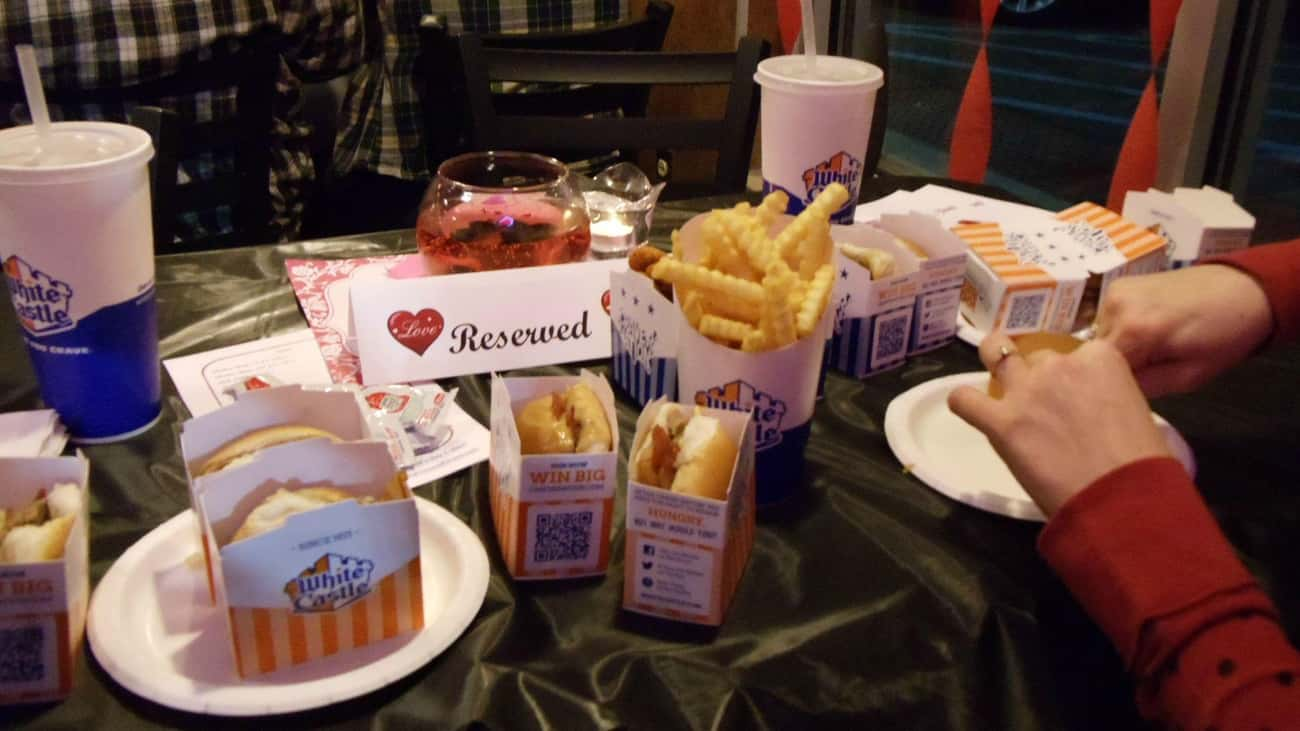 Valentine's Day Special is listed (or ranked) 3 on the list White Castle Secret Menu Items