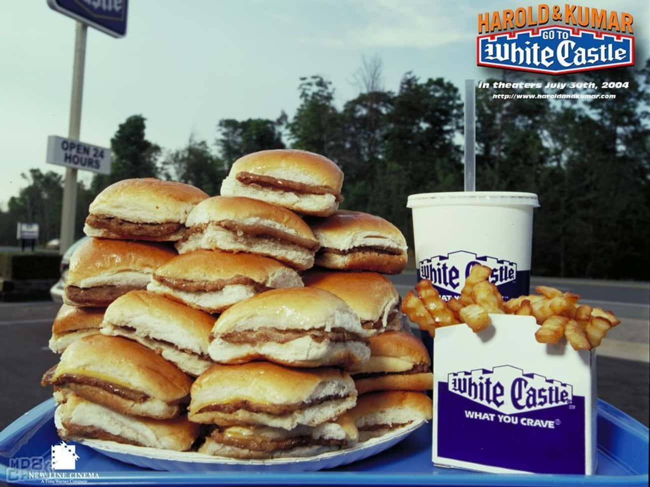 Harold and Kumar's Order is listed (or ranked) 4 on the list White Castle Secret Menu Items