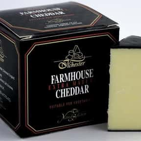 English Farmhouse Cheddar is listed (or ranked) 9 on the list The Very Best Cheese