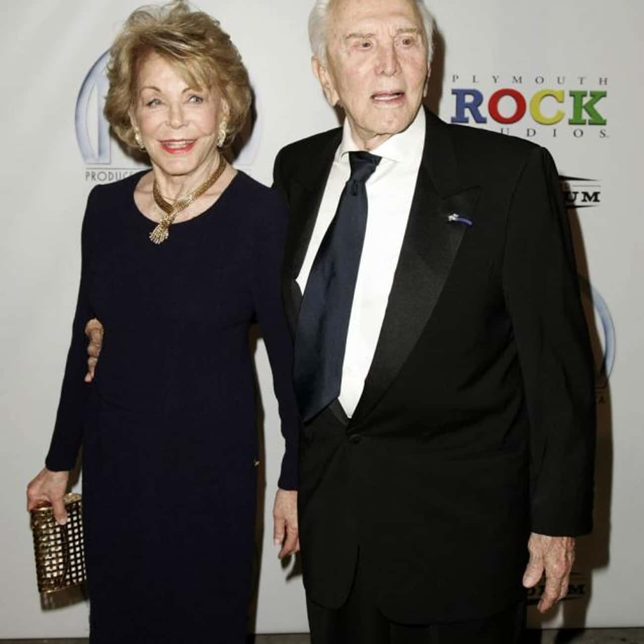 Kirk Douglas and Anne Buydens is listed (or ranked) 1 on the list The Longest Lasting Celebrity Marriages