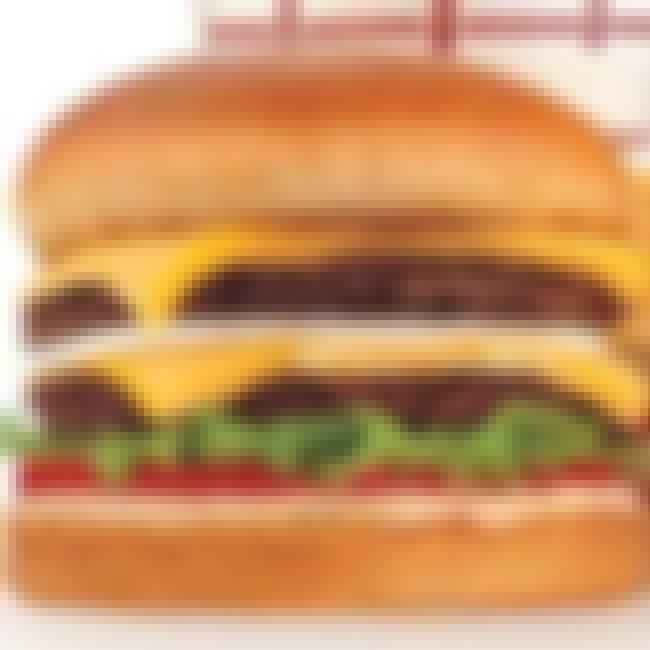 In-N-Out Double Double is listed (or ranked) 3 on the list The Top Fast Food Burgers