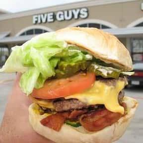 Five Guys Bacon Cheeseburger