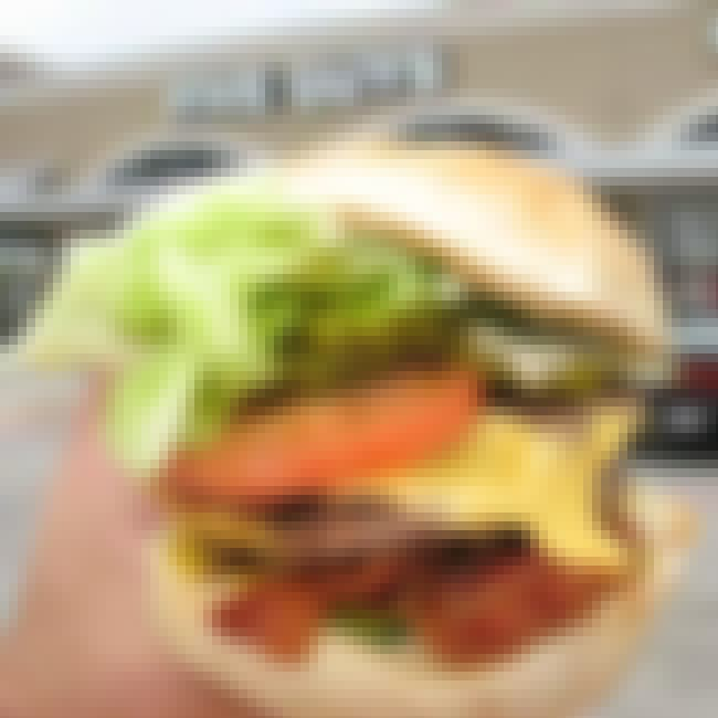 Five Guys Bacon Cheeseburger is listed (or ranked) 1 on the list The Top Fast Food Burgers