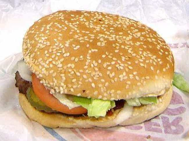 Burger King Whopper Jr. is listed (or ranked) 1 on the list Low Calorie Fast Food