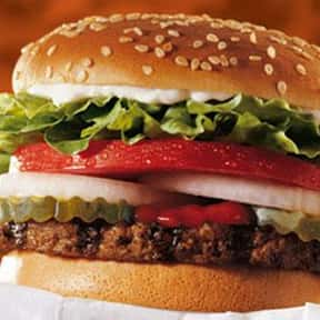 Burger King Whopper Jr. is listed (or ranked) 17 on the list The Healthiest Fast Food Choices in America