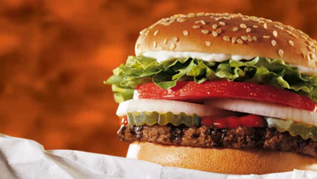 healthiest food at burger king