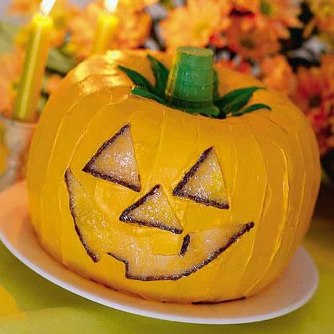 Pumpkin Cake O' Lantern is listed (or ranked) 1 on the list 13 Awesome Halloween Recipes