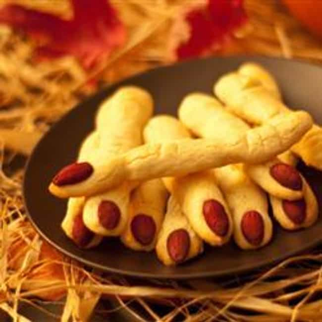 Witch's Fingers Cookies is listed (or ranked) 4 on the list 13 Awesome Halloween Recipes