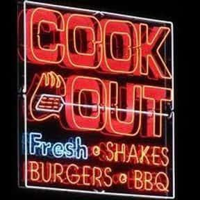 Cook Out is listed (or ranked) 13 on the list Companies Headquartered in North Carolina