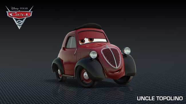 Wise Car is listed (or ranked) 3 on the list Cars 2 Movie Quotes