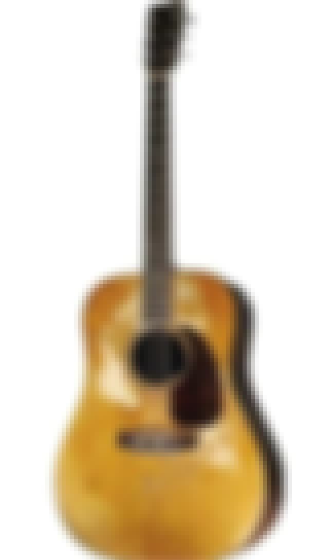Kurt Cobain's 1953 Martin D-18... is listed (or ranked) 4 on the list The Top Five Pieces Of Kurt Cobain And Nirvana Memorabilia