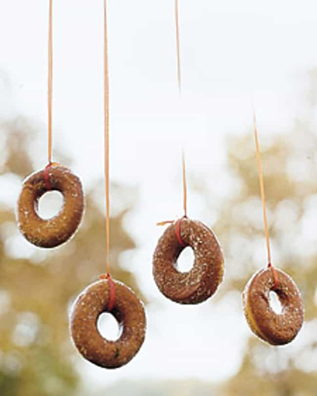 Doughnuts on a String is listed (or ranked) 4 on the list Halloween Party Games