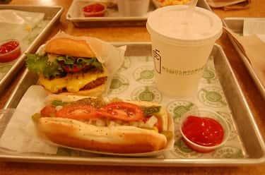 Shack-Cago Burger is listed (or ranked) 2 on the list Shake Shack Secret Menu Items