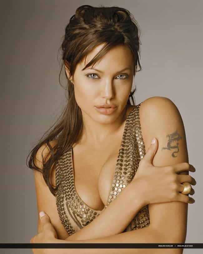 Angelina Jolie Is The Girl Wit Is Listed Or Ranked 4