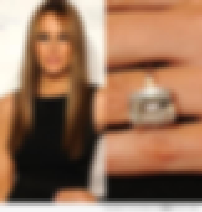 Donald and Melania Trump's Eng... is listed (or ranked) 7 on the list The Most Expensive Rings