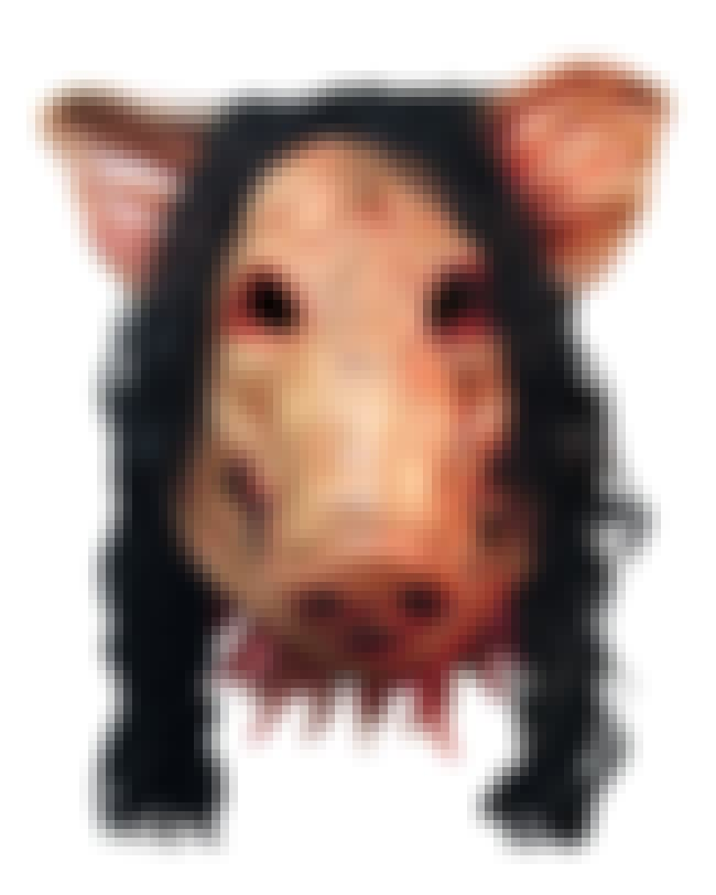 Saw Pig is listed (or ranked) 3 on the list Scariest Halloween Masks