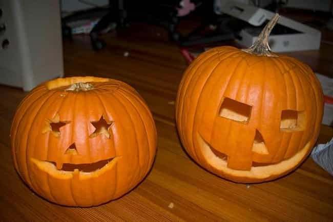 Carved Halloween Pumpkins is listed (or ranked) 2 on the list Halloween Decoration Ideas