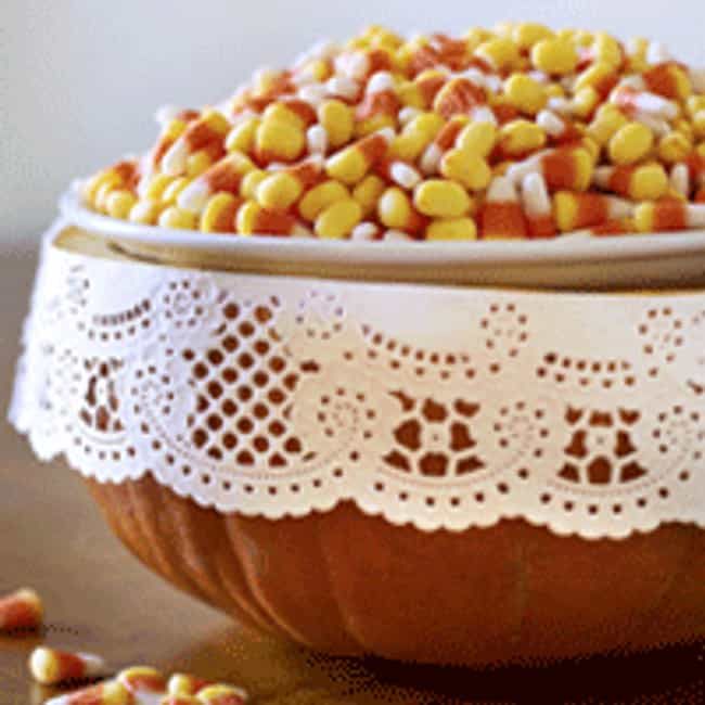 Pumpkin Candy Dish is listed (or ranked) 4 on the list Halloween Decoration Ideas