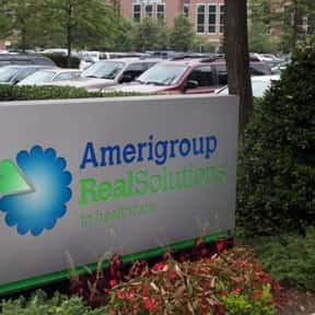 AMERIGROUP Corporation is listed (or ranked) 4 on the list Companies Headquartered in Virginia