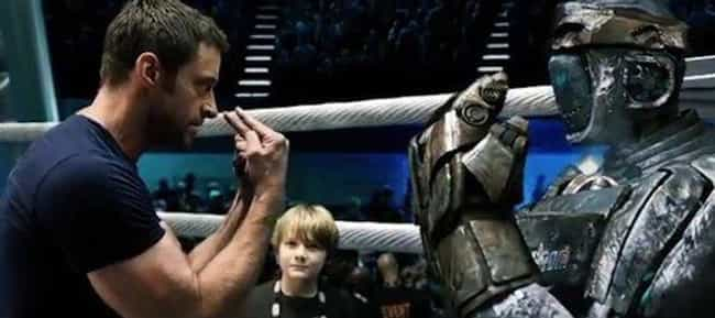 Fighting Robot is listed (or ranked) 1 on the list Real Steel Quotes