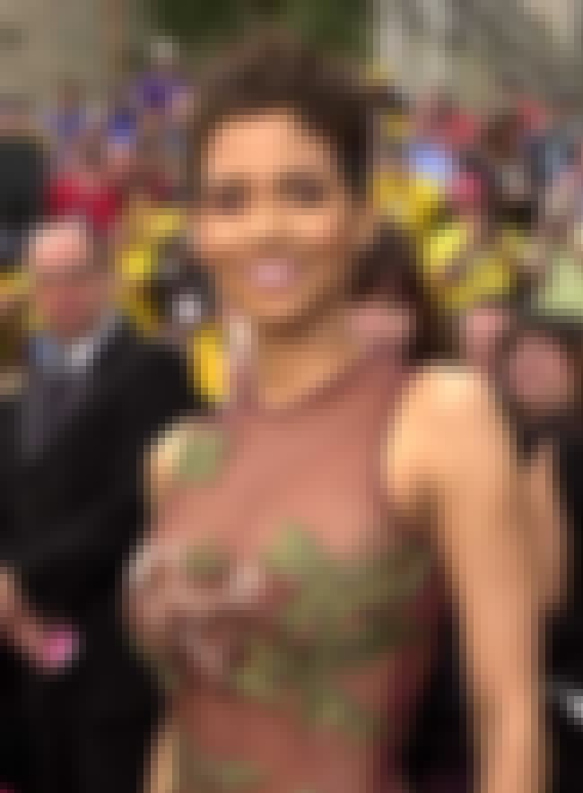 Halle Berry with Boob Flowers is listed (or ranked) 3 on the list The 27 Hottest Halle Berry Photos Ever Taken