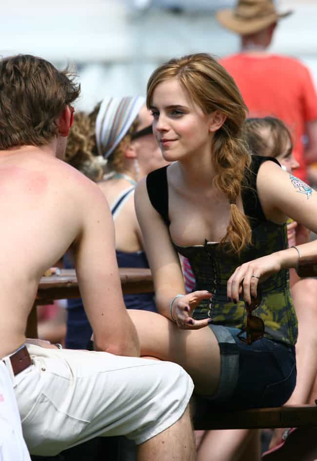 Emma Watson KNOWS What She's F... is listed (or ranked) 3 on the list The 27 Sexiest Emma Watson Pictures Ever Taken