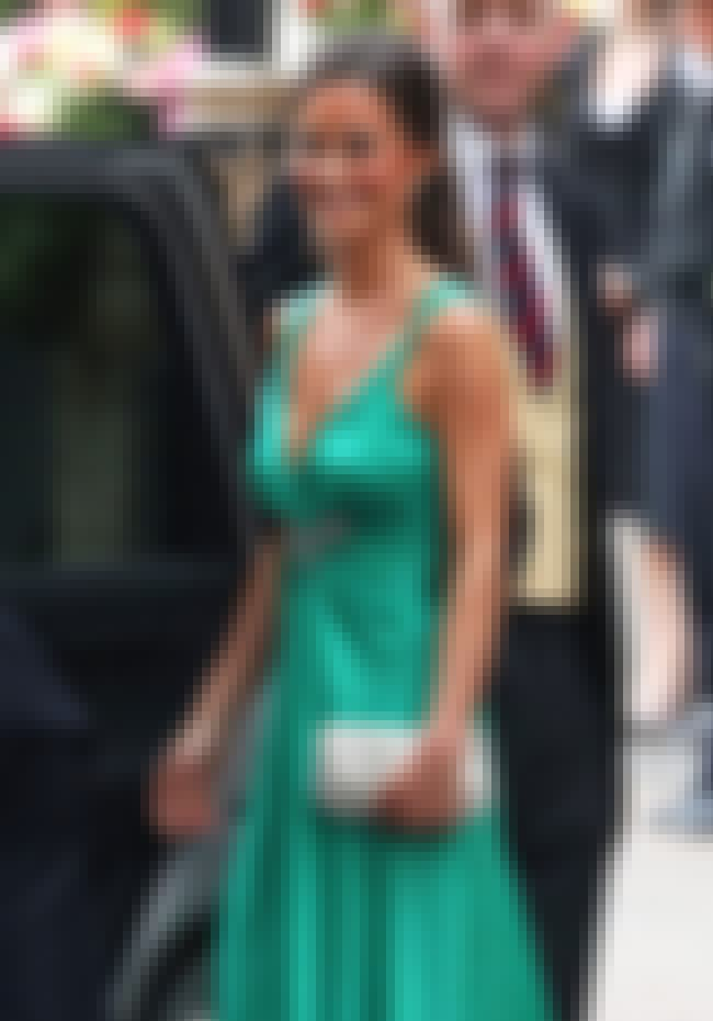 Pippa Middleton in Green Front... is listed (or ranked) 4 on the list Hottest Pippa Middleton Photos