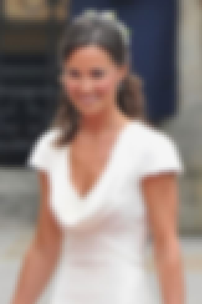 Pippa Middleton in White Lacy ... is listed (or ranked) 3 on the list Hottest Pippa Middleton Photos