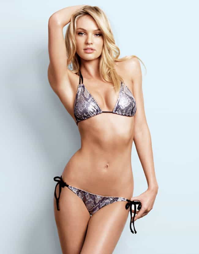 32a6635b24 Candice Swanepoel Can Barely S... is listed (or ranked) 4 on