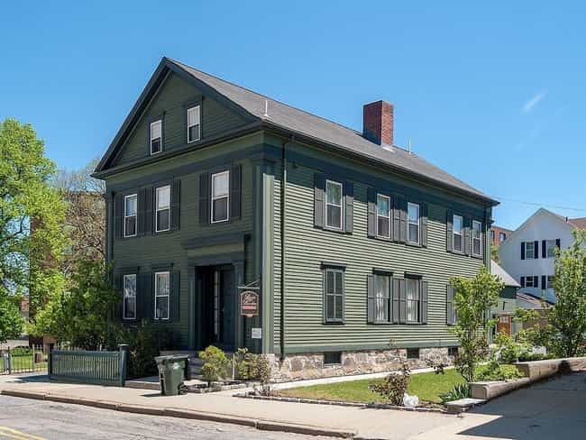 The Lizzie Borden House is listed (or ranked) 3 on the list The 13 Most Convincing Real-Life Ghost Stories