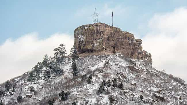 Castle Rock is listed (or ranked) 4 on the list Castles in the United States