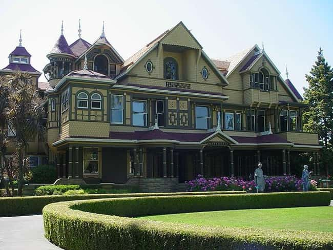 The Winchester Mystery House is listed (or ranked) 9 on the list The 13 Most Convincing Real-Life Ghost Stories