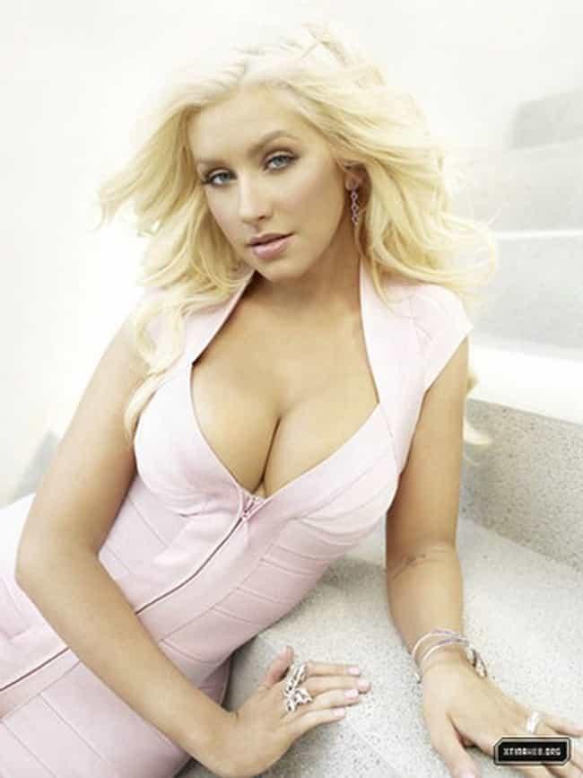 Sexy Christina Aguilera Photos  Near-Nude Christina -3642