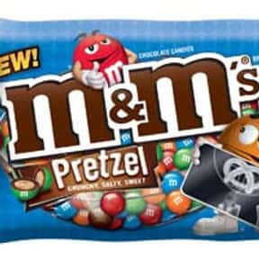 Pretzel M&Ms is listed (or ranked) 7 on the list The Best Flavors of M&Ms