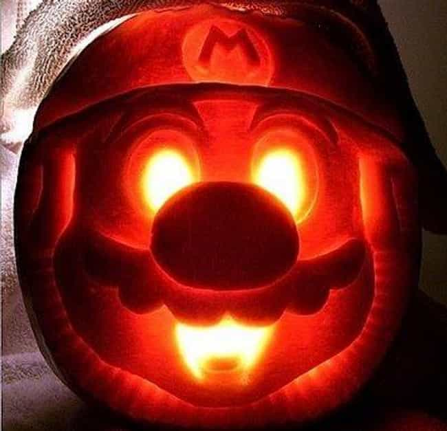 Nintendo Pumpkins is listed (or ranked) 4 on the list The Most Epic Halloween Gaming Pumpkins of All Time