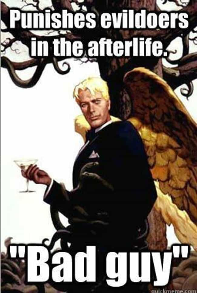 Good Guy Lucifer Does the Dirt... is listed (or ranked) 4 on the list The Very Best of the Good Guy Lucifer Meme