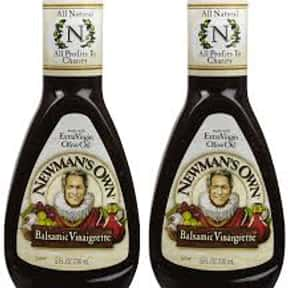 Newman's Own Balsamic Vina is listed (or ranked) 1 on the list The Very Best Newman's Own Salad Dressing Flavors