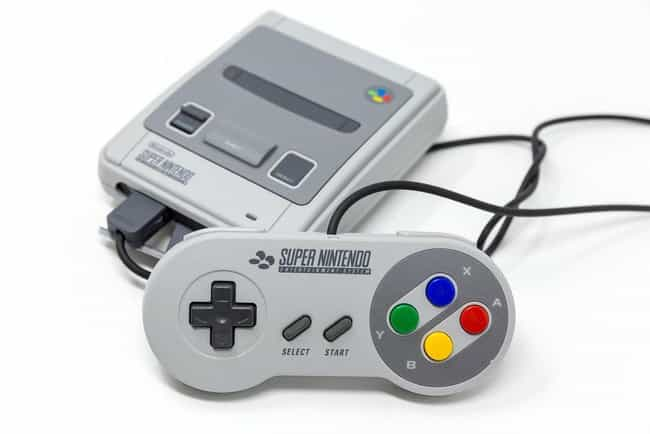 Super Nintendo is listed (or ranked) 2 on the list The Best Video Game System Controllers Ever
