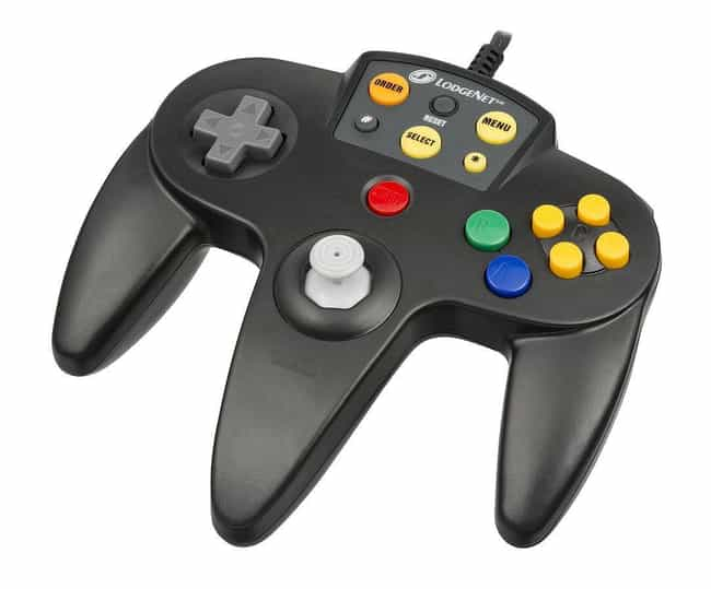 Nintendo N64 is listed (or ranked) 8 on the list The Best Video Game System Controllers Ever