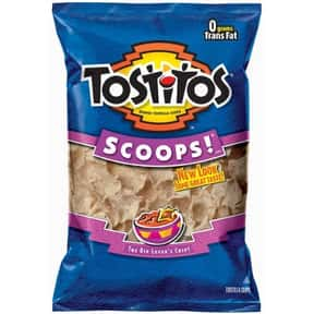 Tostitos SCOOPS! is listed (or ranked) 23 on the list The World's Most Delicious Chips, Crisps & Crunchy Snacks