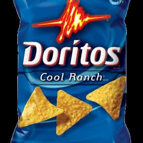 Cool Ranch Doritos is listed (or ranked) 5 on the list The World's Most Delicious Chips, Crisps & Crunchy Snacks
