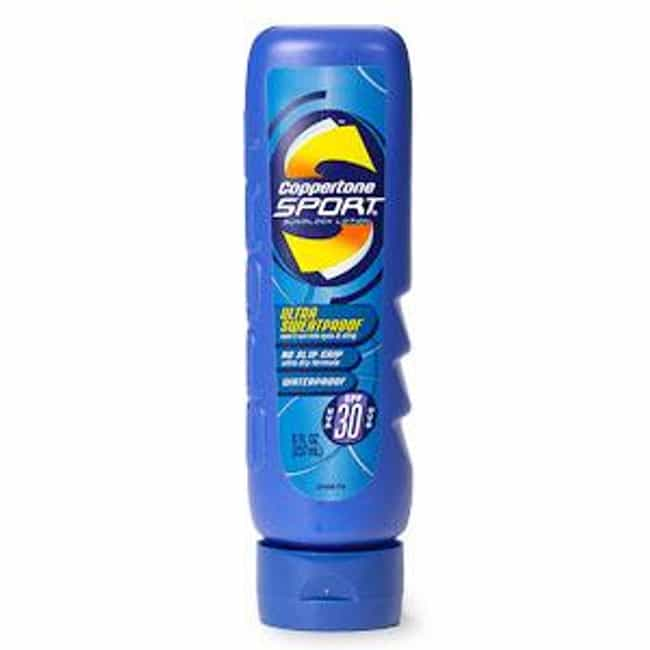 Coppertone Sport Ultra Sweatpr... is listed (or ranked) 1 on the list The Best Sunscreen