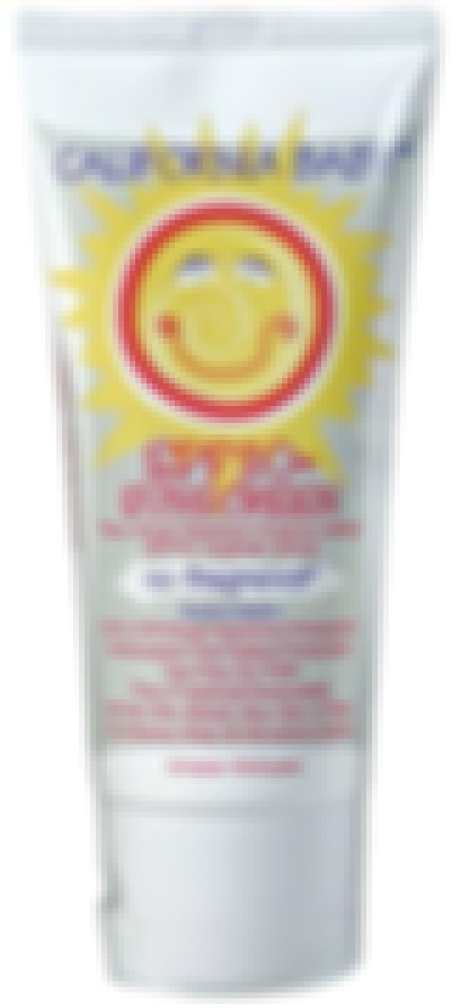 California Baby No Fragrance S... is listed (or ranked) 3 on the list The Best Sunscreen