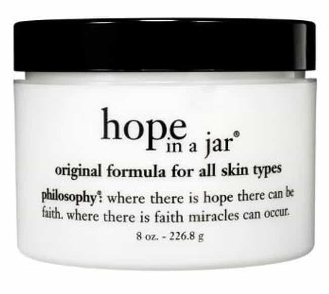 Philosophy Hope in a Jar is listed (or ranked) 1 on the list The Best Facial Moisturizer