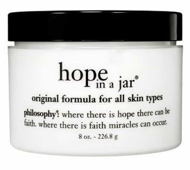 Philosophy Hope in a Jar is listed (or ranked) 4 on the list The Best Anti-Aging Moisturizer