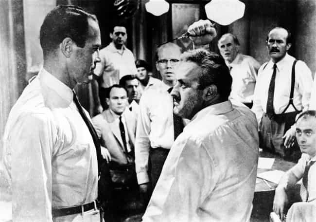 A matter of seconds is listed (or ranked) 3 on the list 12 Angry Men Movie Quotes