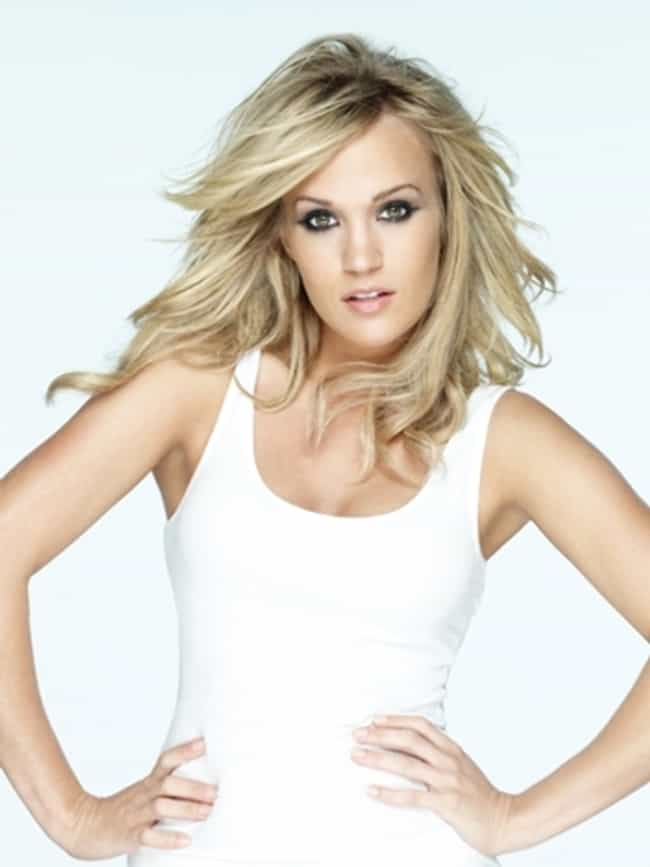 Carrie Underwood in White Tank... is listed (or ranked) 4 on the list The Most Stunning Carrie Underwood Photos