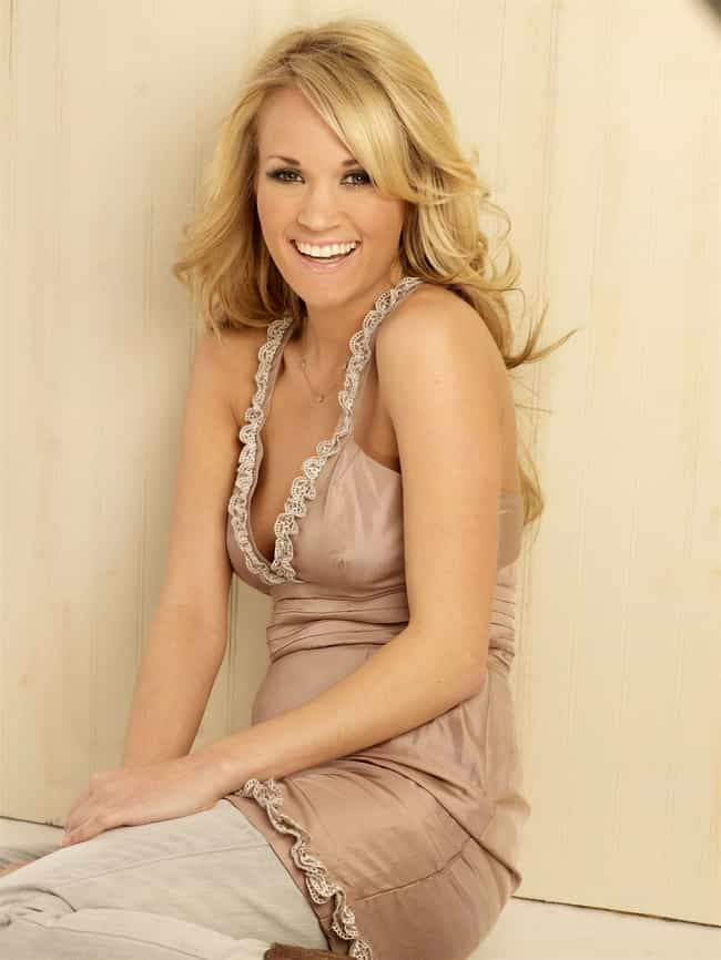 Carrie Underwood in Lace Pleat... is listed (or ranked) 1 on the list The Most Stunning Carrie Underwood Photos
